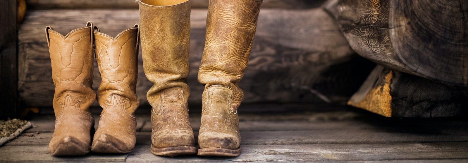 Cowboy image slide